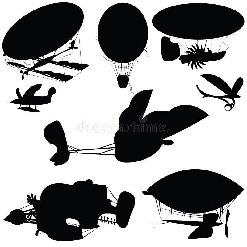 φανταστικές πετώντας μηχα&n ελεύθερη απεικόνιση δικαιώματος