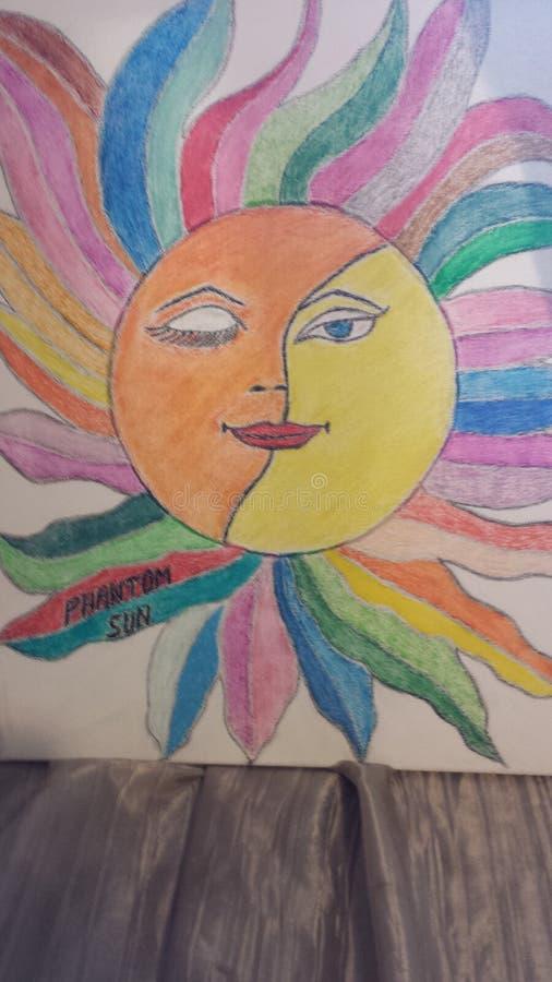 Φανταστικός ήλιος στοκ εικόνα με δικαίωμα ελεύθερης χρήσης
