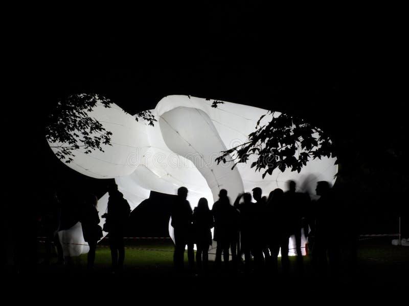 Φανταστικός πλανήτης από τη Amanda Parer στο φεστιβάλ Πράγα σημάτων στοκ εικόνες με δικαίωμα ελεύθερης χρήσης