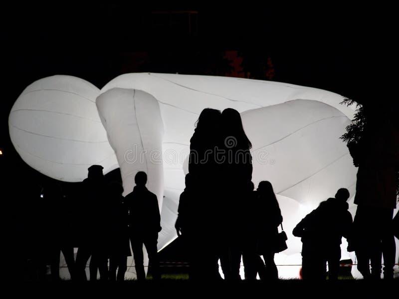 Φανταστικός πλανήτης από τη Amanda Parer στο φεστιβάλ Πράγα σημάτων στοκ εικόνα με δικαίωμα ελεύθερης χρήσης