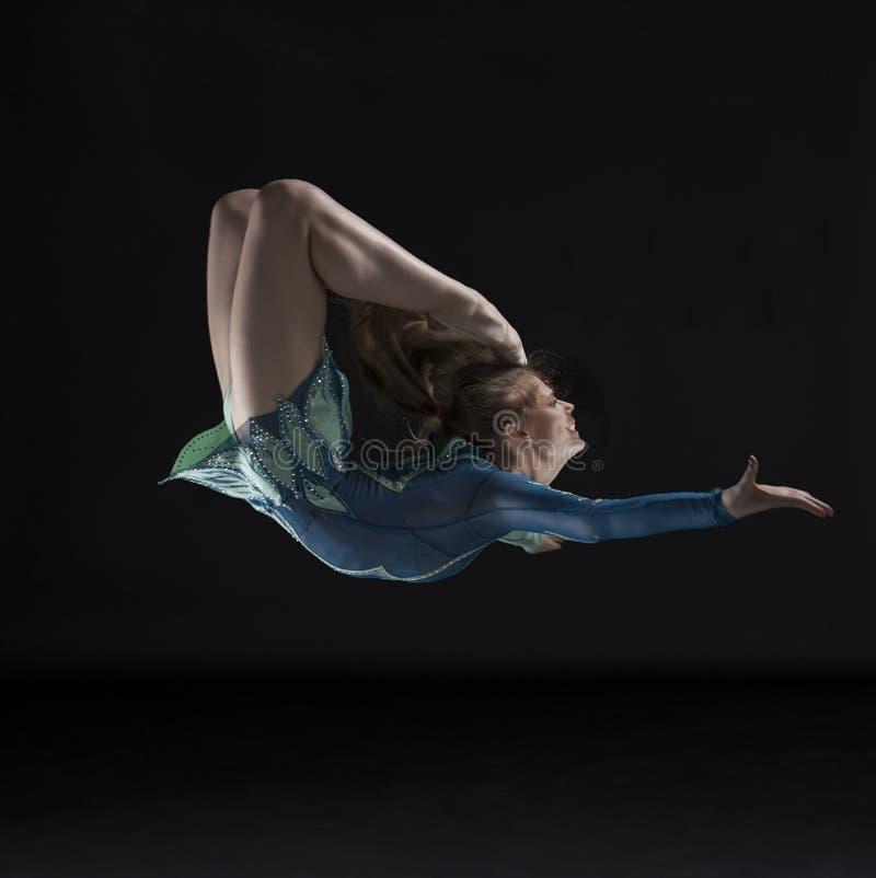 Φανταστικός gymnast στοκ εικόνες με δικαίωμα ελεύθερης χρήσης