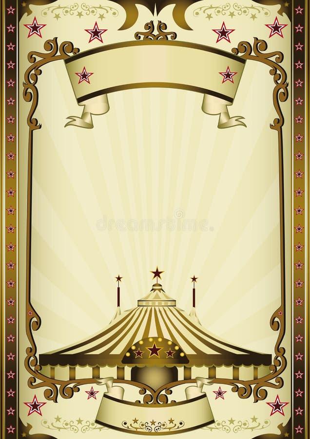Φανταστικό τσίρκο ψυχαγωγίας στοκ φωτογραφία