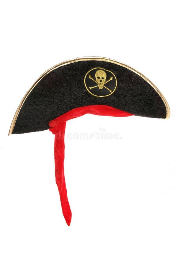 Φανταχτερό καπέλο φορεμάτων πειρατών στοκ εικόνες