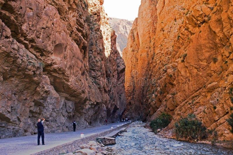 φαράγγια Μαρόκο στοκ φωτογραφία με δικαίωμα ελεύθερης χρήσης