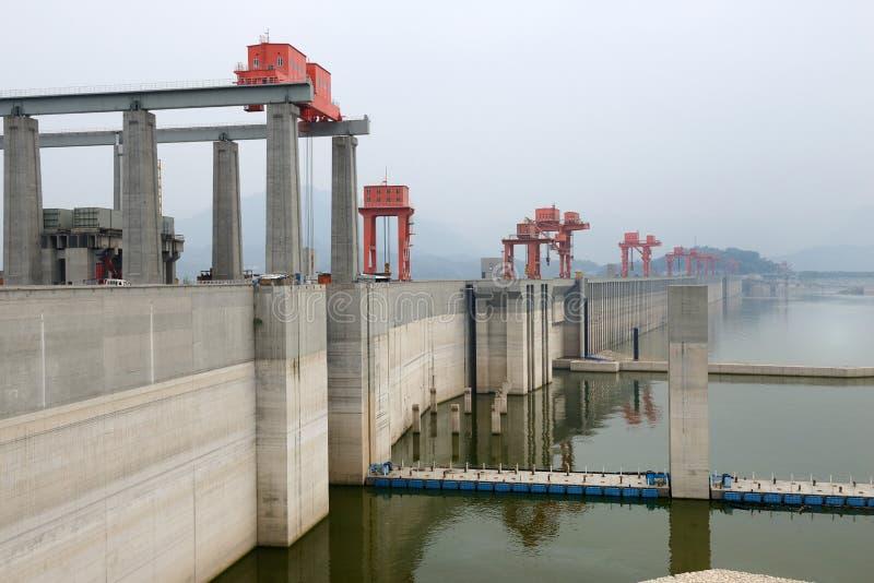 φαράγγια τρία φραγμάτων της Κίνας στοκ φωτογραφία