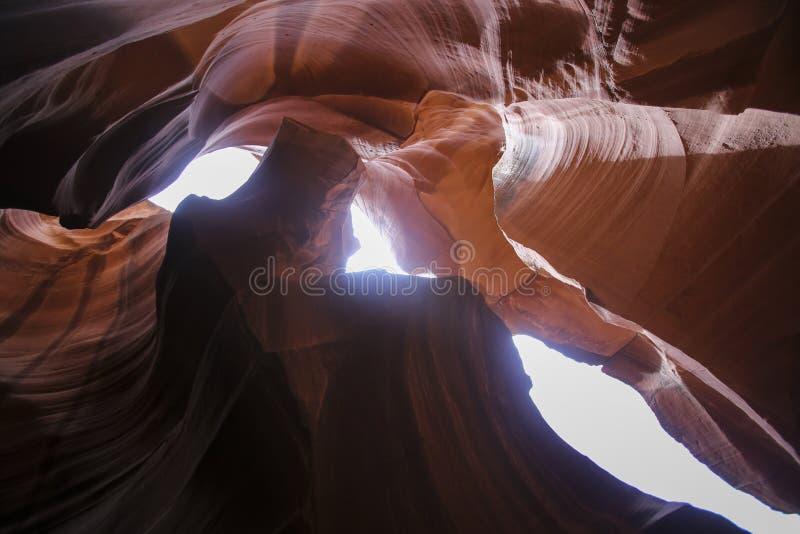 Φαράγγι αυλακώσεων στην Αριζόνα στοκ εικόνες