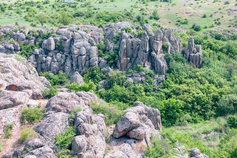 Φαράγγι Βράχοι γρανίτη στοκ εικόνες με δικαίωμα ελεύθερης χρήσης