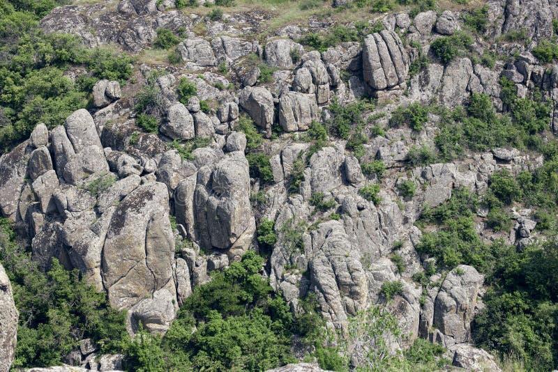 Φαράγγι Βράχοι γρανίτη στοκ εικόνα με δικαίωμα ελεύθερης χρήσης
