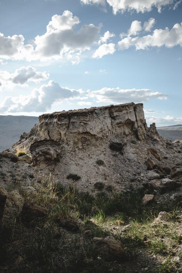 Φαράγγι μετά από τον ογκώδη σεισμό στοκ φωτογραφίες