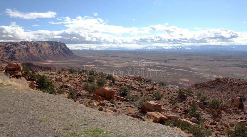 Φαράγγι-πορφυρή αγριότητα απότομων βράχων Paria, Utah, ΗΠΑ στοκ φωτογραφίες με δικαίωμα ελεύθερης χρήσης
