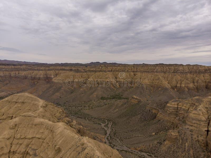 Φαράγγι Charyn, εθνικό πάρκο Charyn στο Καζακστάν Τοπική φωτογραφία στοκ φωτογραφία με δικαίωμα ελεύθερης χρήσης