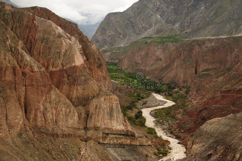 Φαράγγι Cotahuasi, Περού στοκ φωτογραφίες με δικαίωμα ελεύθερης χρήσης