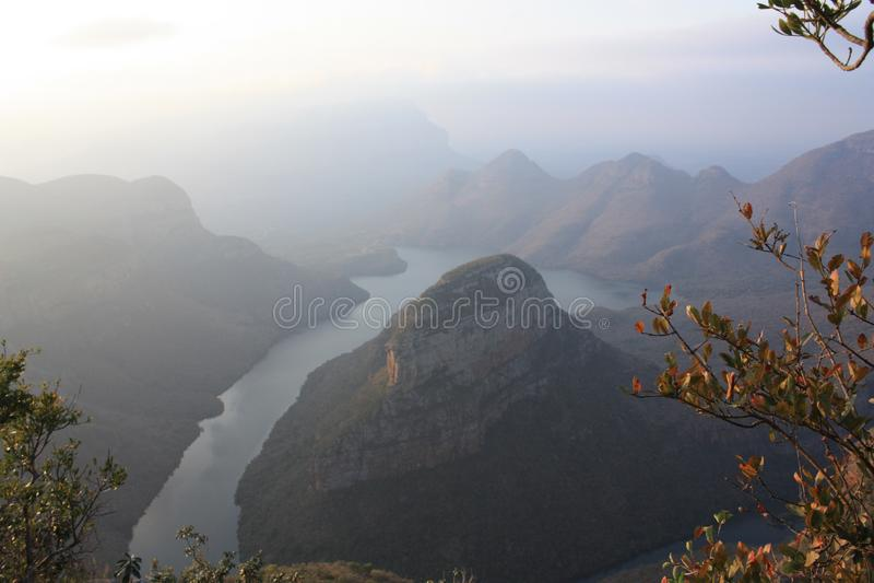 Φαράγγι Mpumalanga Νότια Αφρική ποταμών Blyde στοκ φωτογραφίες