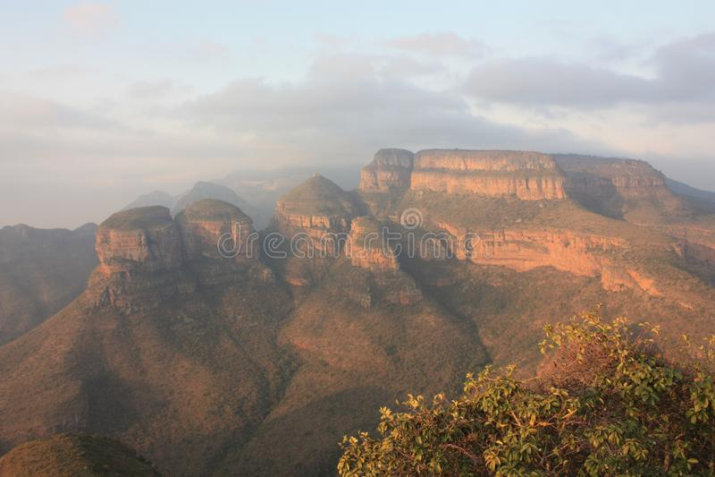 Φαράγγι Mpumalanga Νότια Αφρική ποταμών Blyde στοκ εικόνα με δικαίωμα ελεύθερης χρήσης