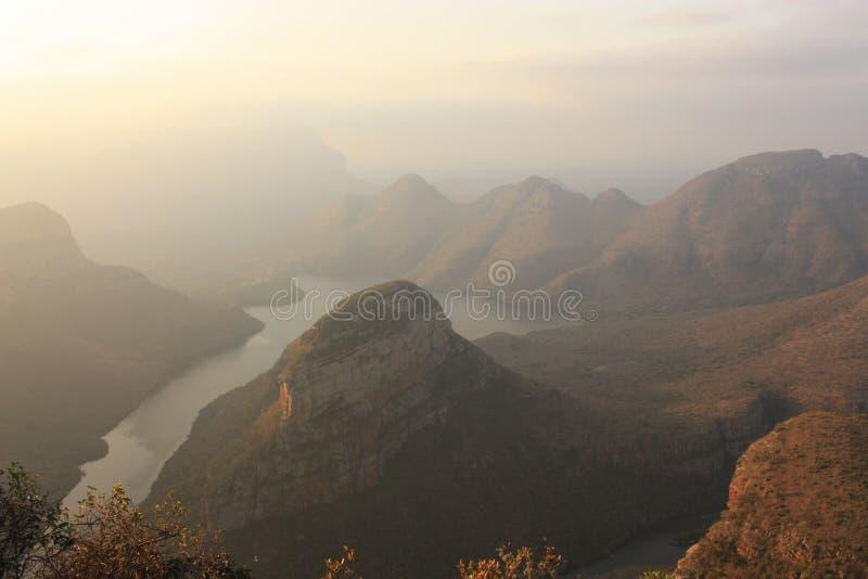 Φαράγγι Mpumalanga Νότια Αφρική ποταμών Blyde στοκ φωτογραφίες με δικαίωμα ελεύθερης χρήσης