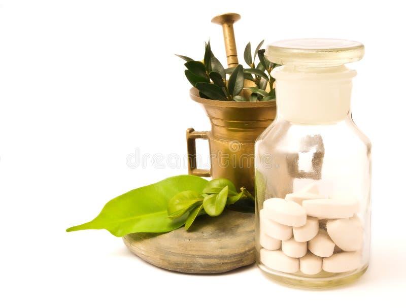 φαρμακείο κονιάματος μπ&omicr στοκ εικόνα με δικαίωμα ελεύθερης χρήσης