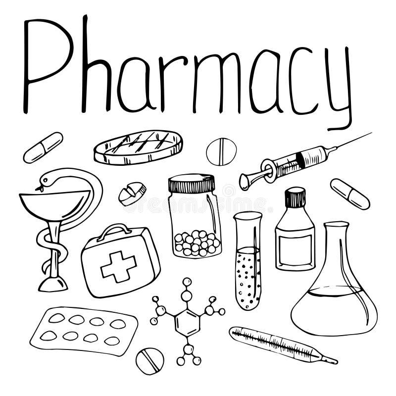φαρμακείο ελεύθερη απεικόνιση δικαιώματος