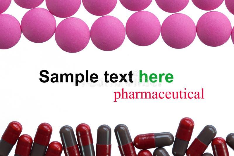 Φαρμακευτική κάψα madicine στοκ φωτογραφίες με δικαίωμα ελεύθερης χρήσης