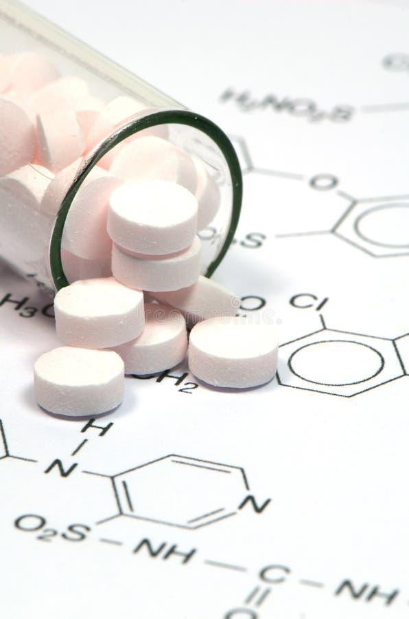 Φαρμακευτική τεχνολογία στοκ φωτογραφία