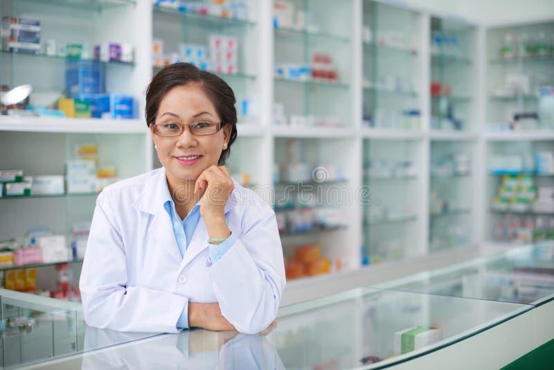 φαρμακοποιός στοκ εικόνες με δικαίωμα ελεύθερης χρήσης