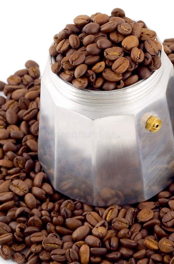 Φασόλια καφέ Espresso στοκ φωτογραφία με δικαίωμα ελεύθερης χρήσης