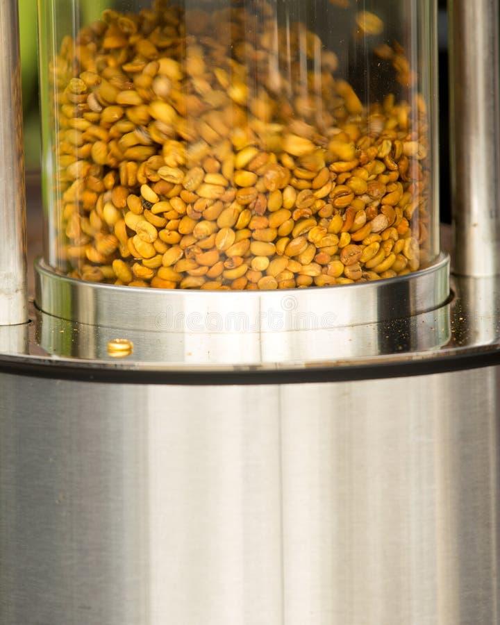 Φασόλια καφέ στην αγορά αγροτών του Ρόκφορντ στοκ φωτογραφία