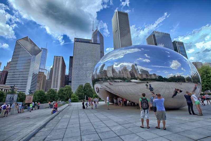 Φασόλι του Σικάγου στοκ φωτογραφίες