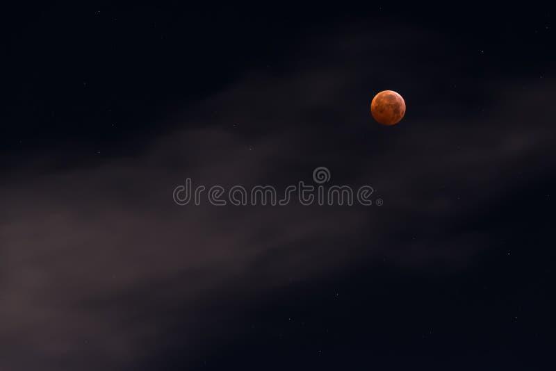 Φεγγάρι αίματος στοκ εικόνες με δικαίωμα ελεύθερης χρήσης
