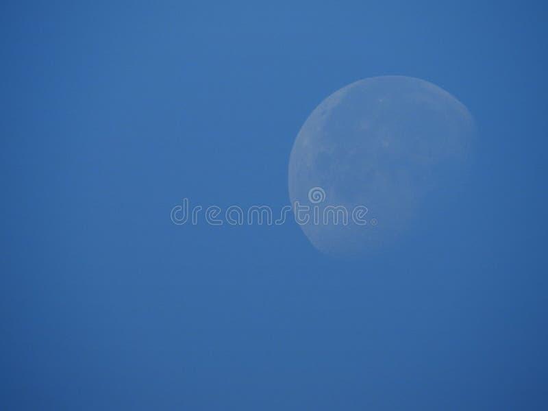 Φεγγάρι πτώσης στην αυγή στοκ φωτογραφίες με δικαίωμα ελεύθερης χρήσης