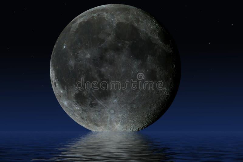 Φεγγάρι πλανητών διανυσματική απεικόνιση