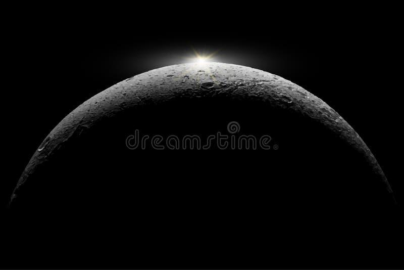 Φεγγάρι Στοιχεία αυτής της απεικόνισης που εφοδιάζεται από τη NASA ελεύθερη απεικόνιση δικαιώματος