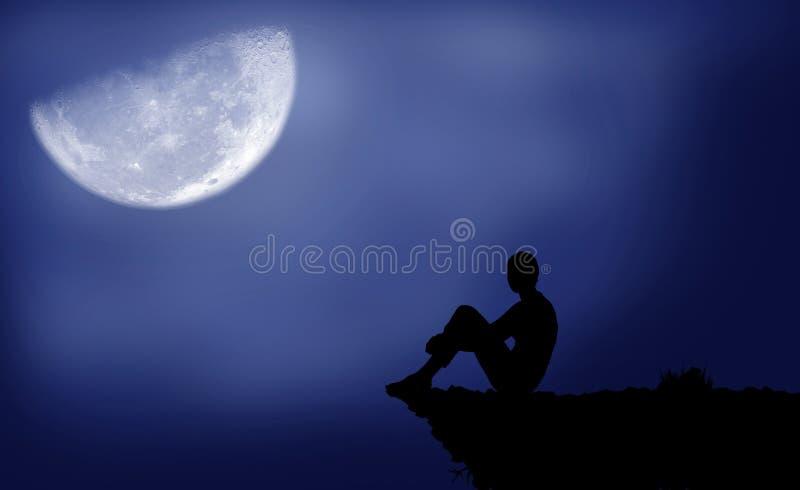 Φεγγάρι διανυσματική απεικόνιση