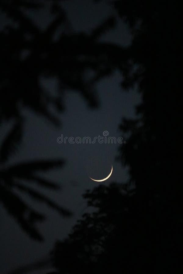 φεγγάρι eid στοκ εικόνα με δικαίωμα ελεύθερης χρήσης
