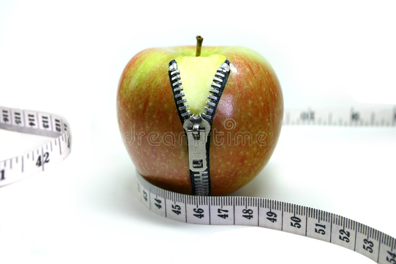 φερμουάρ μήλων στοκ εικόνες με δικαίωμα ελεύθερης χρήσης