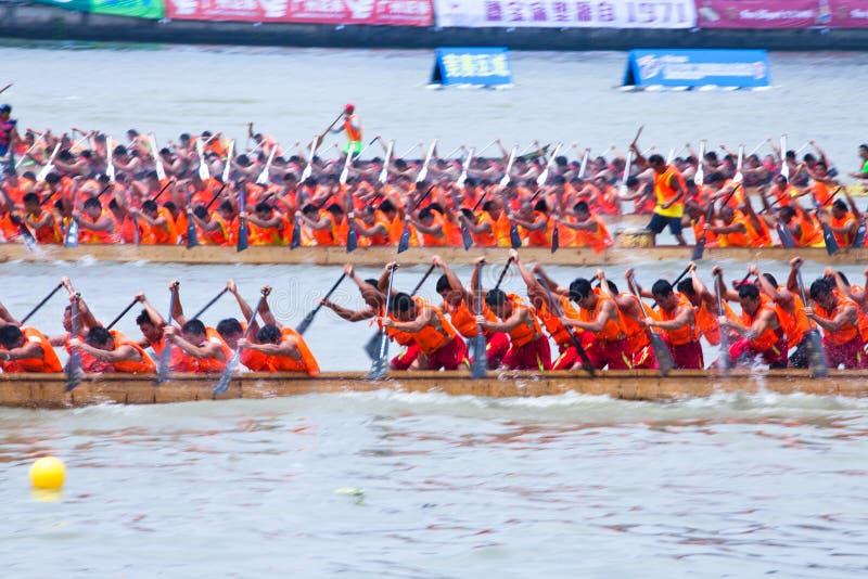Φεστιβάλ βαρκών δράκων σε Guangzhou Κίνα στοκ εικόνες