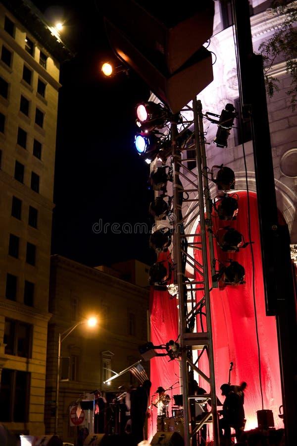 Φεστιβάλ θερινής μουσικής στοκ φωτογραφία με δικαίωμα ελεύθερης χρήσης