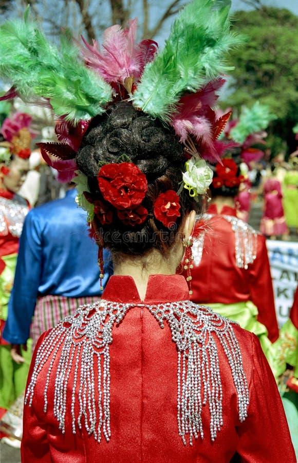 φεστιβάλ Ινδονήσιος τέχνης στοκ εικόνες