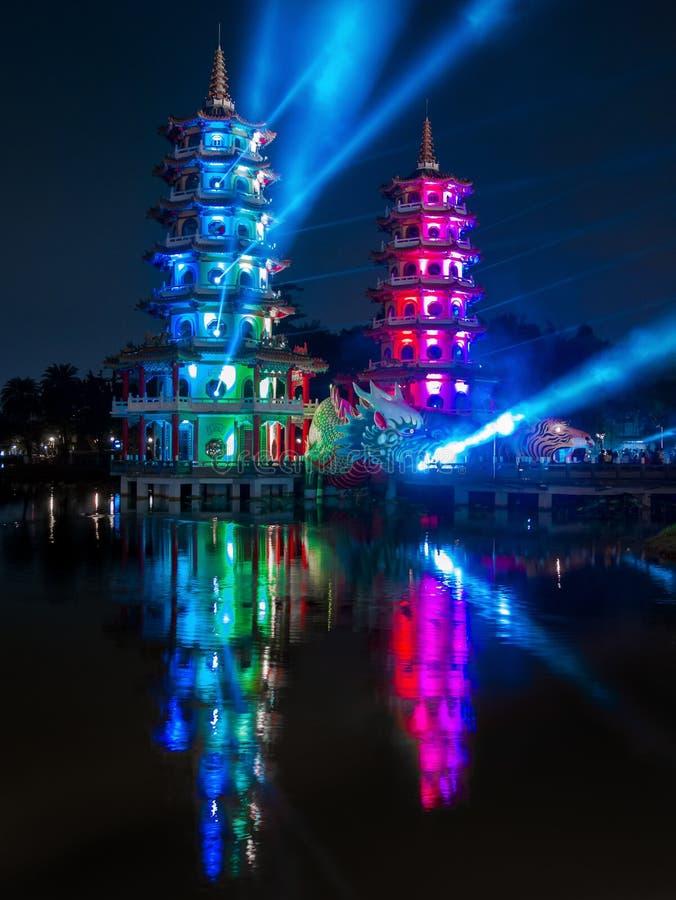 Φεστιβάλ λαογραφίας Wannian Zuoying, Kaohsiung στοκ φωτογραφίες