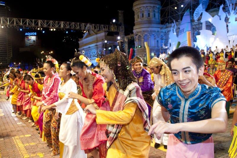 φεστιβάλ Μαλαισία 2010 χρωμάτ&o στοκ εικόνες με δικαίωμα ελεύθερης χρήσης