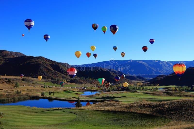 φεστιβάλ μπαλονιών αέρα καυτό στοκ φωτογραφίες με δικαίωμα ελεύθερης χρήσης