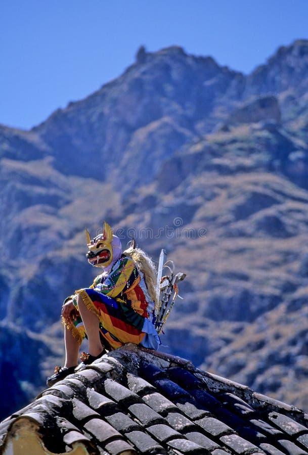 φεστιβάλ Περού στοκ εικόνα με δικαίωμα ελεύθερης χρήσης