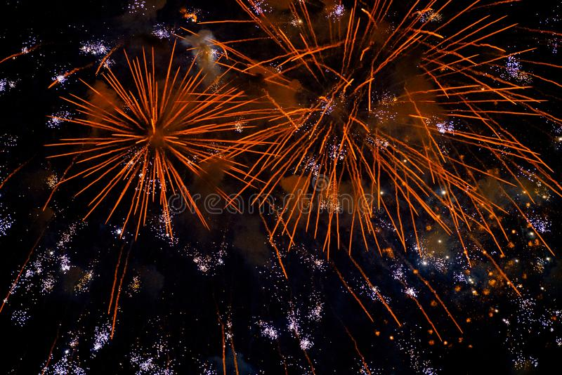 Φεστιβάλ 2018 πυροτεχνημάτων φθινοπώρου Chofu στοκ φωτογραφία με δικαίωμα ελεύθερης χρήσης