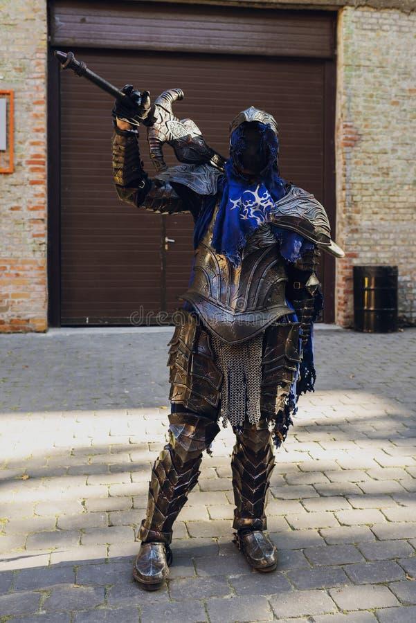 Φεστιβάλ του σύγχρονου κουλτούρα ποπ ΚΩΜΙΚΟ CON Ουκρανία στις 22 Σεπτεμβρίου 2018 Κίεβο, Ουκρανία, στοκ φωτογραφία με δικαίωμα ελεύθερης χρήσης