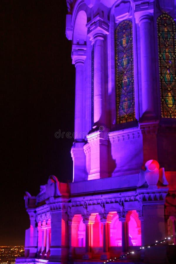 Φεστιβάλ των φω'των 2009 στη Λυών στοκ φωτογραφίες με δικαίωμα ελεύθερης χρήσης