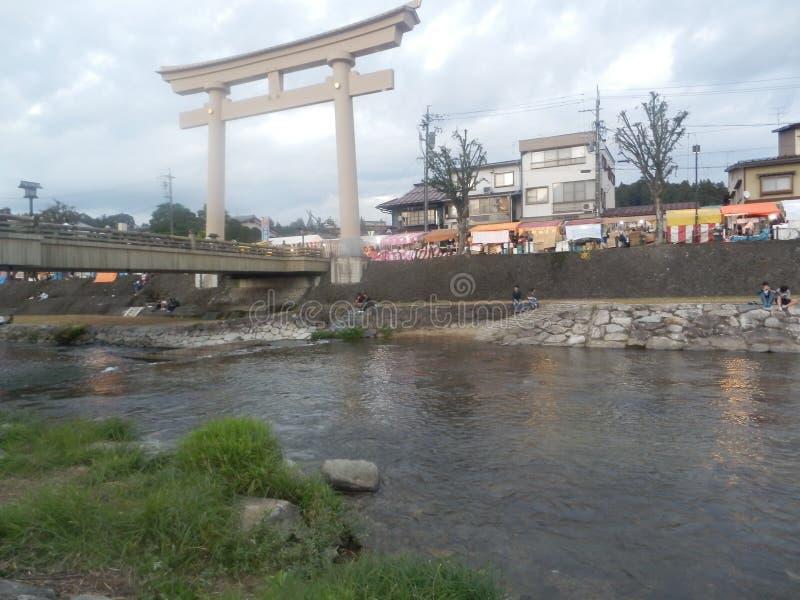 Φεστιβάλ φθινοπώρου Takayama στοκ εικόνες