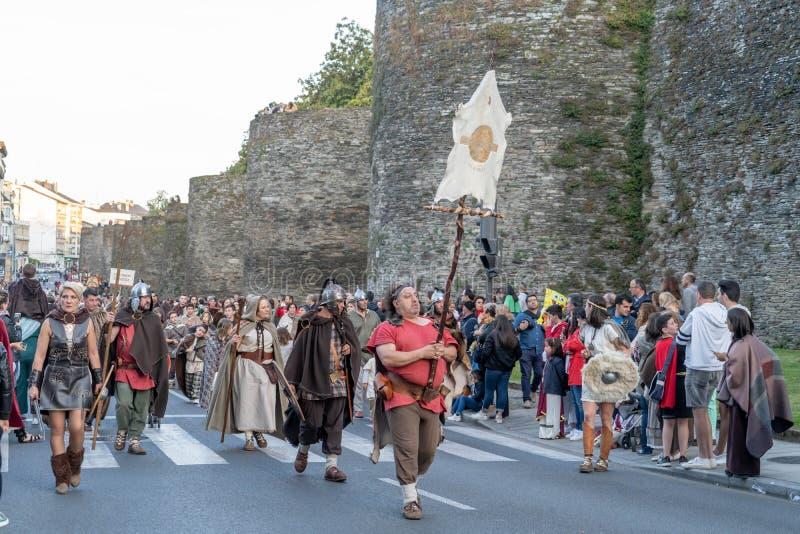 Φεστιβάλ Arde Lucus στοκ φωτογραφίες με δικαίωμα ελεύθερης χρήσης