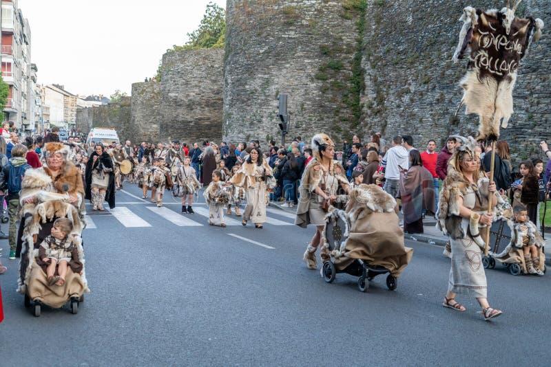 Φεστιβάλ Arde Lucus στοκ εικόνα με δικαίωμα ελεύθερης χρήσης