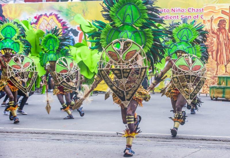 2018 φεστιβάλ Dinagyang στοκ εικόνες με δικαίωμα ελεύθερης χρήσης