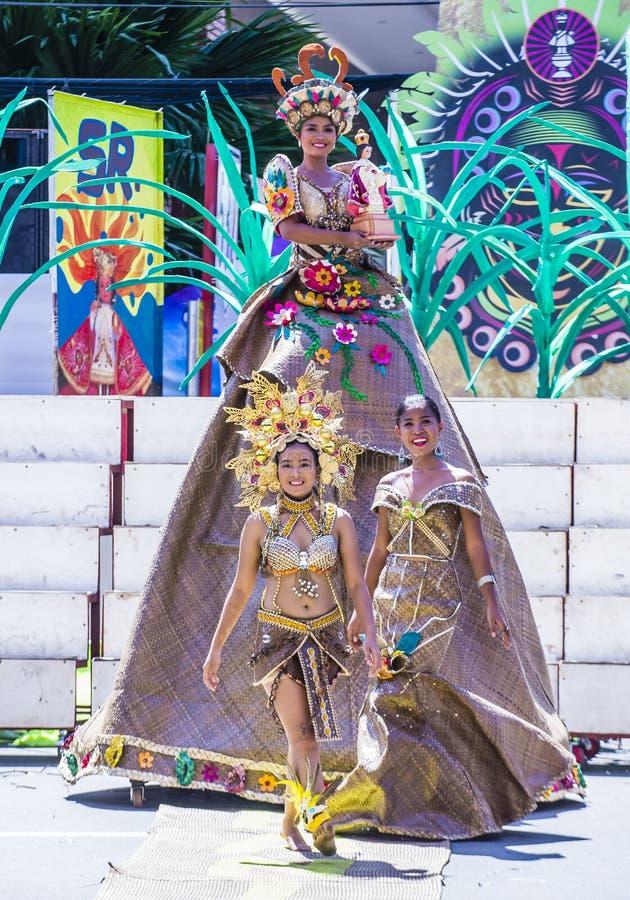 2018 φεστιβάλ Dinagyang στοκ φωτογραφία με δικαίωμα ελεύθερης χρήσης