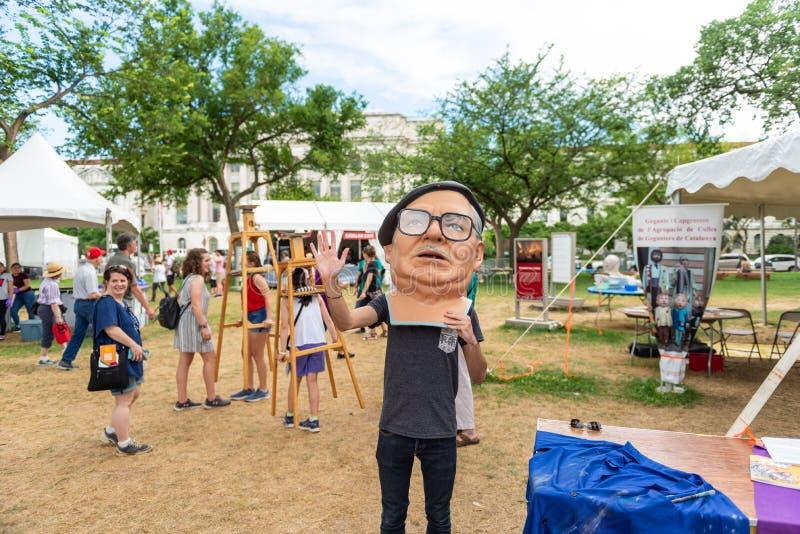 Φεστιβάλ 2018 Folklife στοκ εικόνα με δικαίωμα ελεύθερης χρήσης